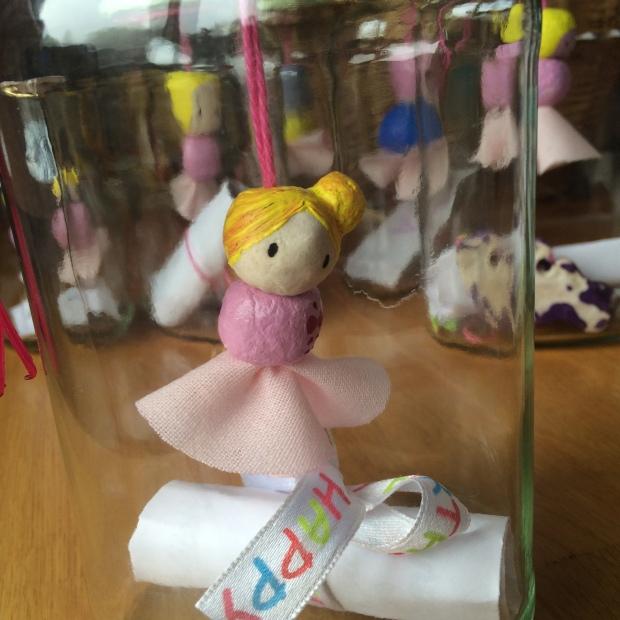 Ballerina oder Prinzessin im Glas
